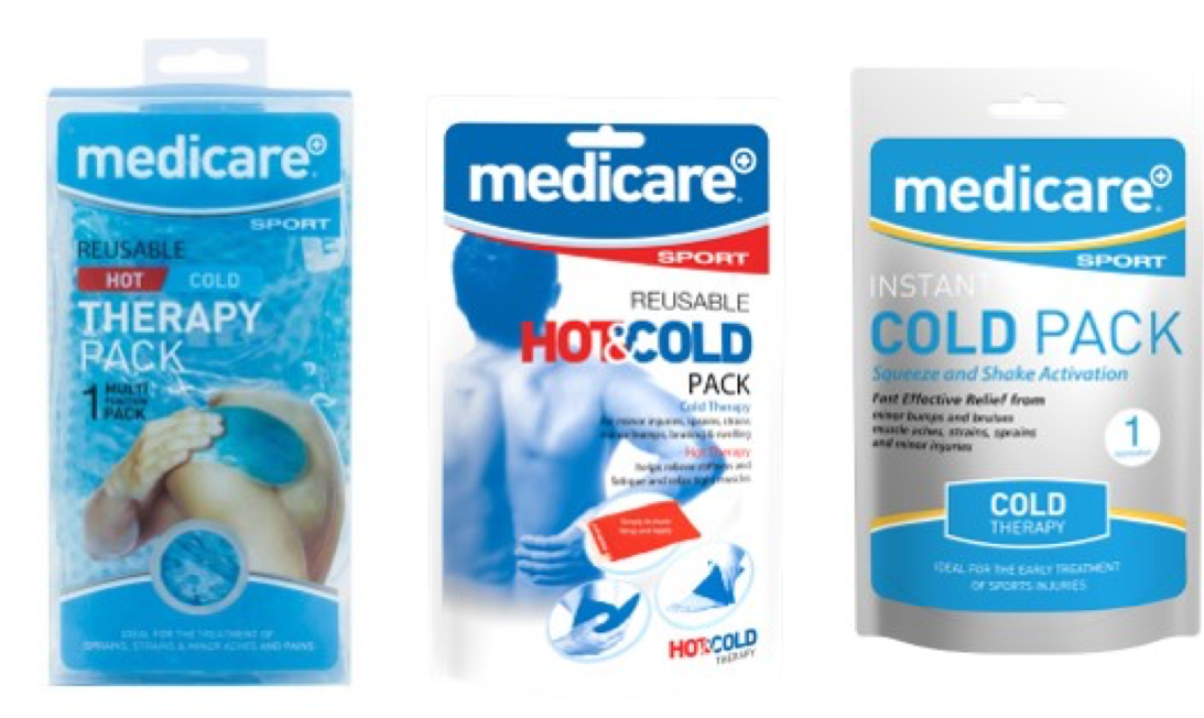 Medicare Cold Pack Products