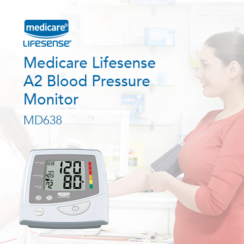 The Medicare Lifesense A2 Blood Pressure Monitor is a high-accuracy BPM for sale from Fleming Medical