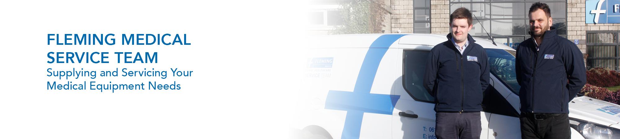 Fleming Medical Medical Equipment Service Team Banner Image