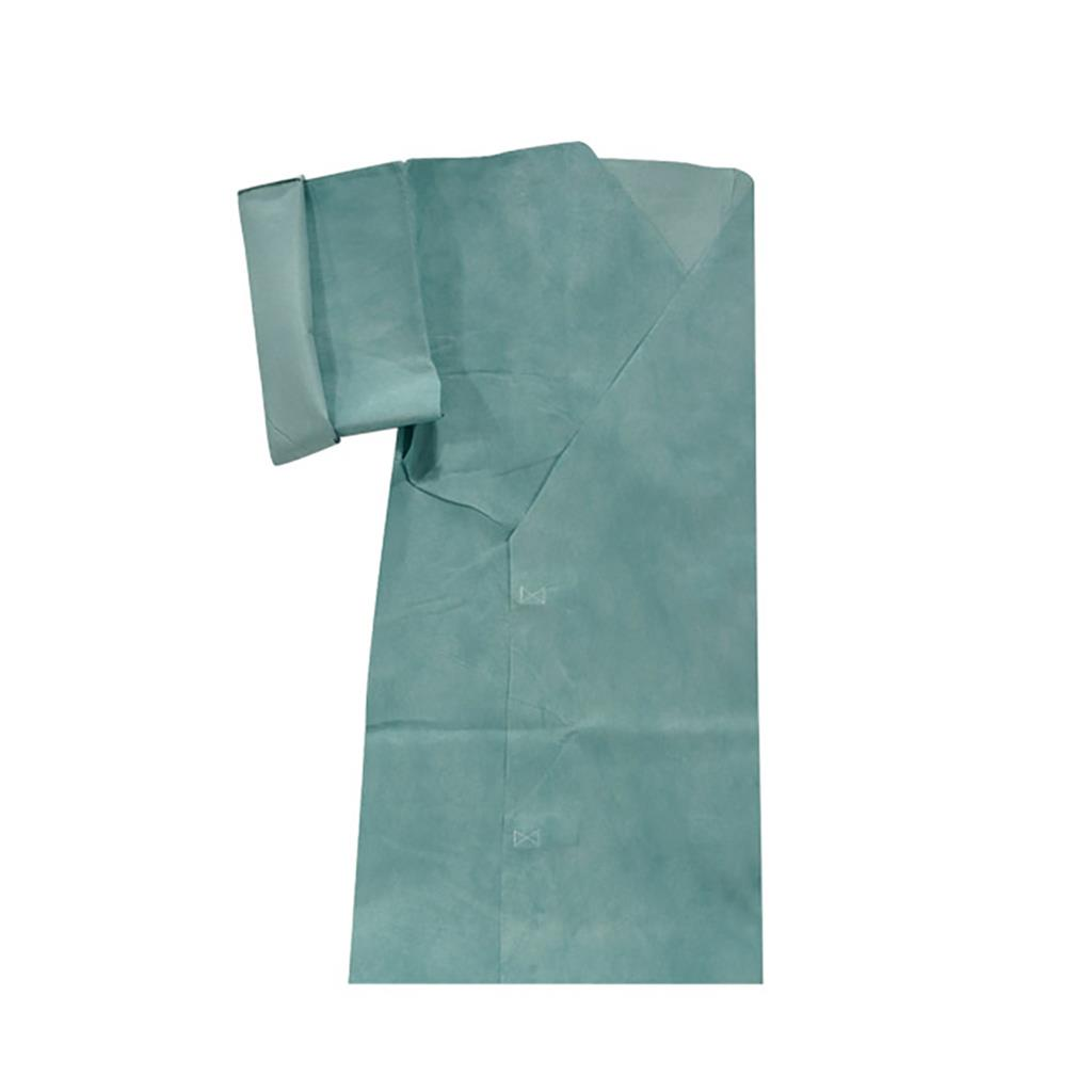 BV EXAMINATION GOWN GREEN 96 X 136CM