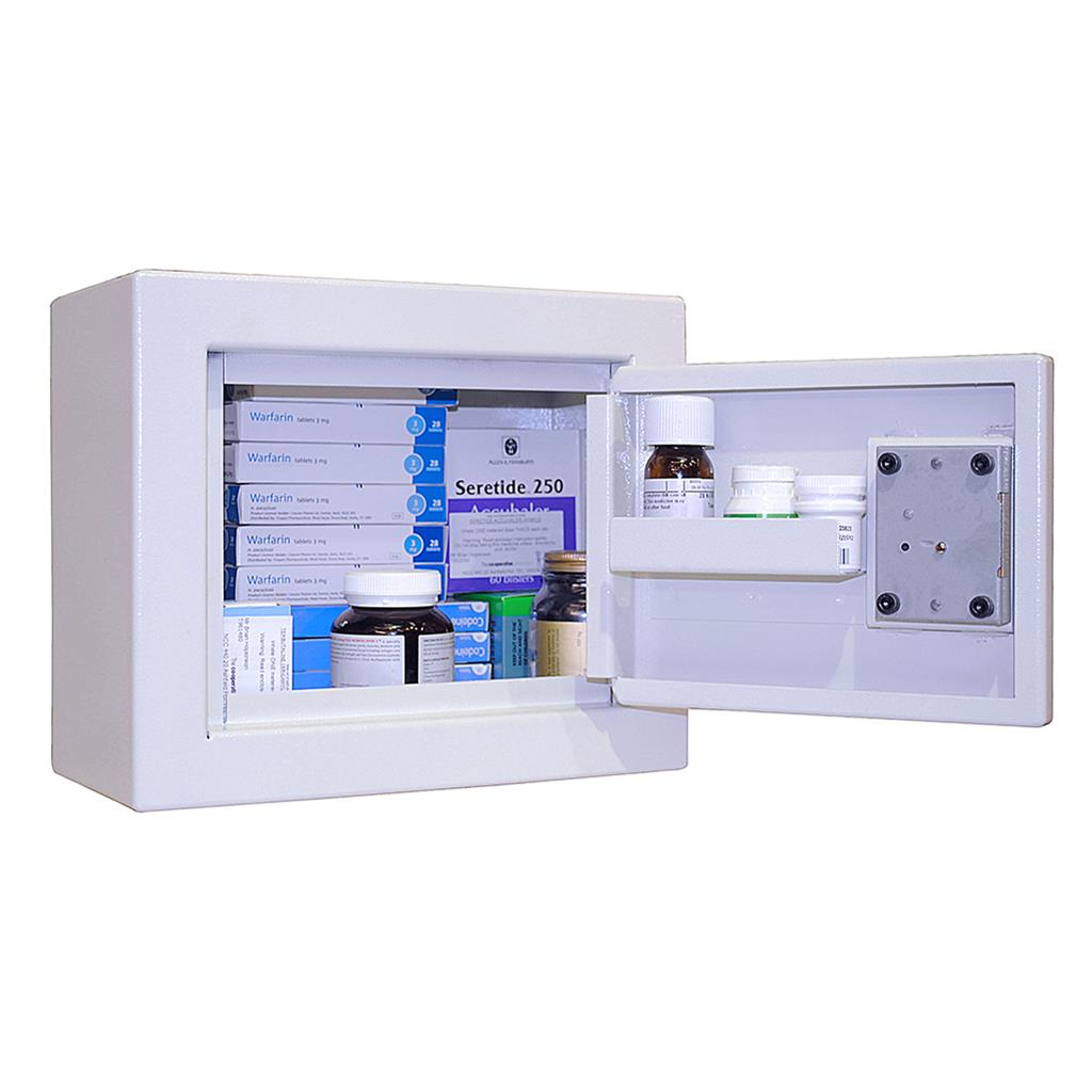 CONTROLLED DRUG CABINET 11 LITRE WALL 300*250*150MM