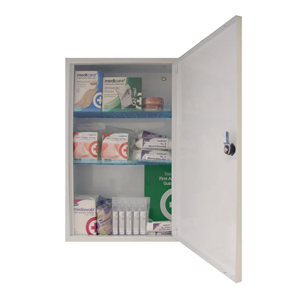 EMPTY SAFE & SECURE MIDI FIRST AID CABINET