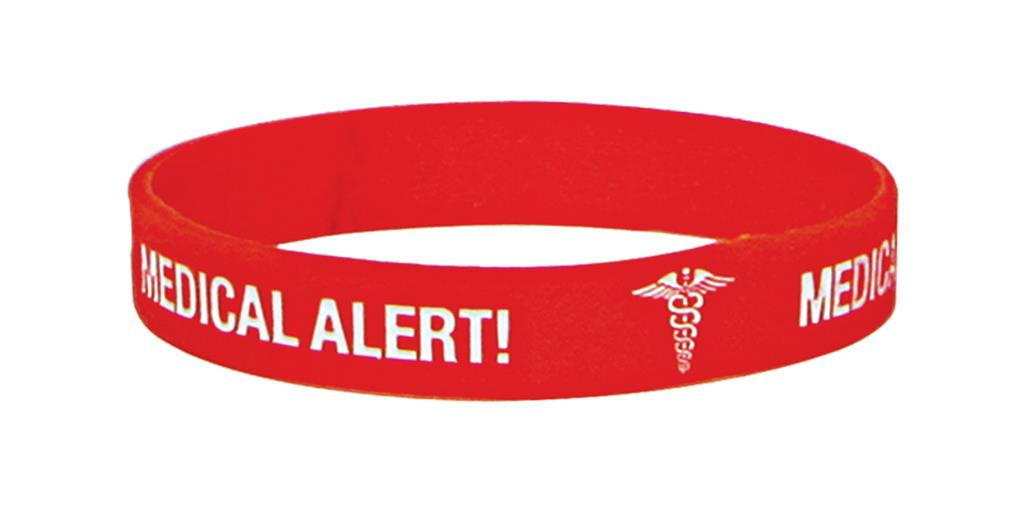 MEDICARE MEDICAL ID BAND BLANK (WRITE ON) LARGE