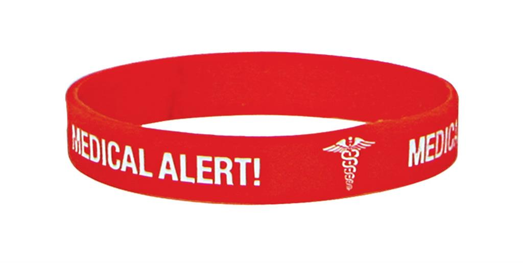 MEDICARE MEDICAL ID BAND BLANK (WRITE ON) MEDIUM