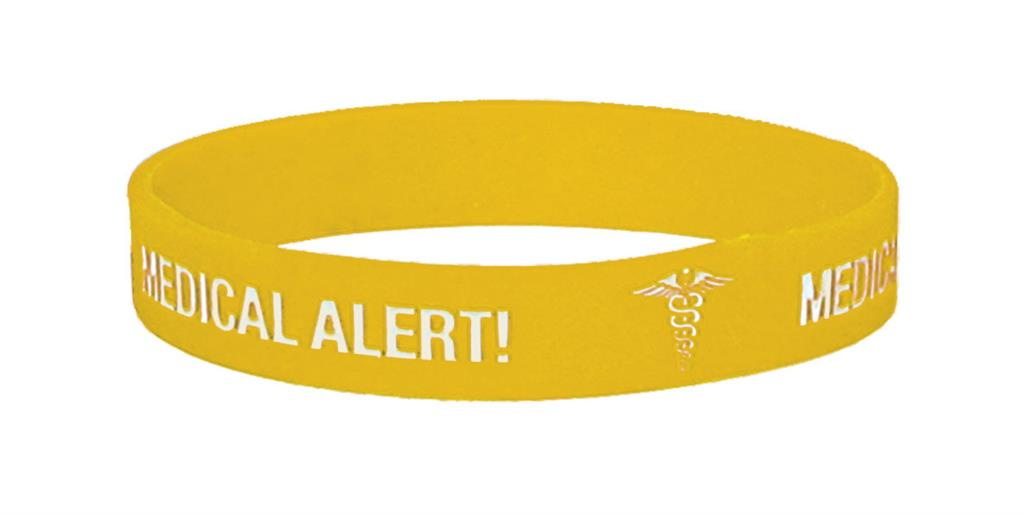 MEDICARE MEDICAL ID BAND DIABETES EX-LARGE