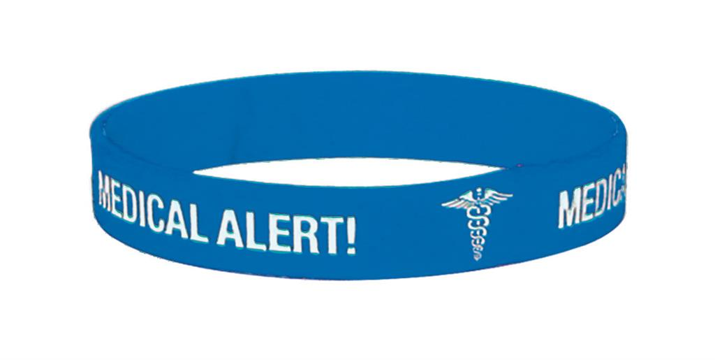 MEDICARE MEDICAL ID BAND EPILEPSY EX-LARGE