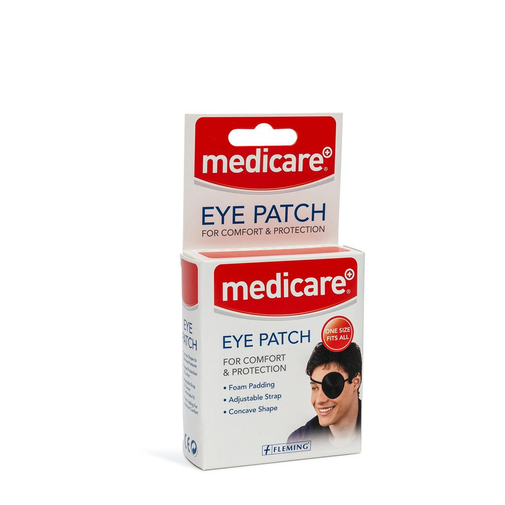 MEDICARE EYE PATCH BLACK
