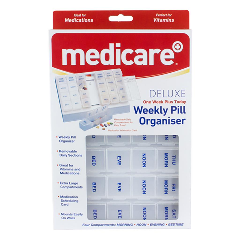 MEDICARE ONE WEEK PLUS TODAY DELUXE PILLBOX