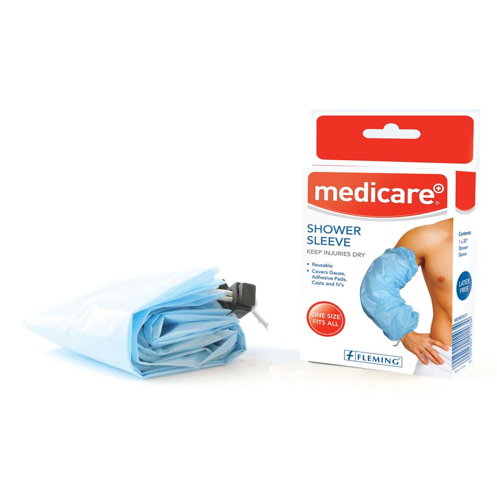 MEDICARE SHOWER SLEEVE