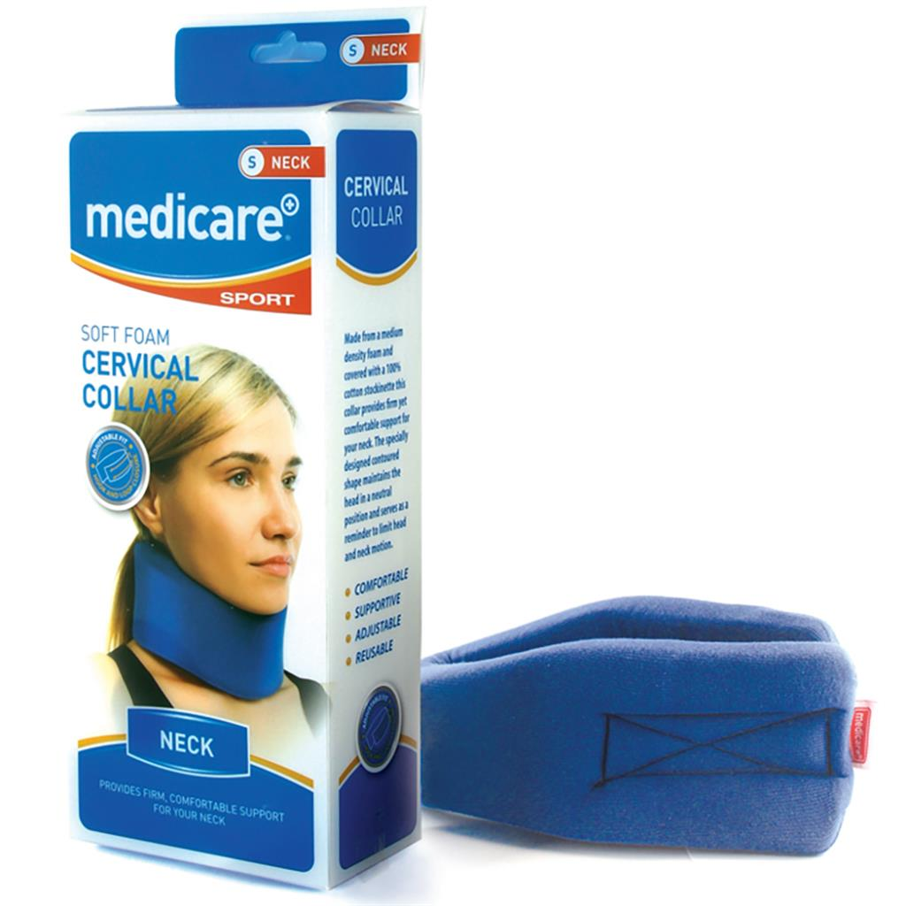 "MEDICARE SOFT FOAM CERVICAL COLLAR MEDIUM (2.5"")"