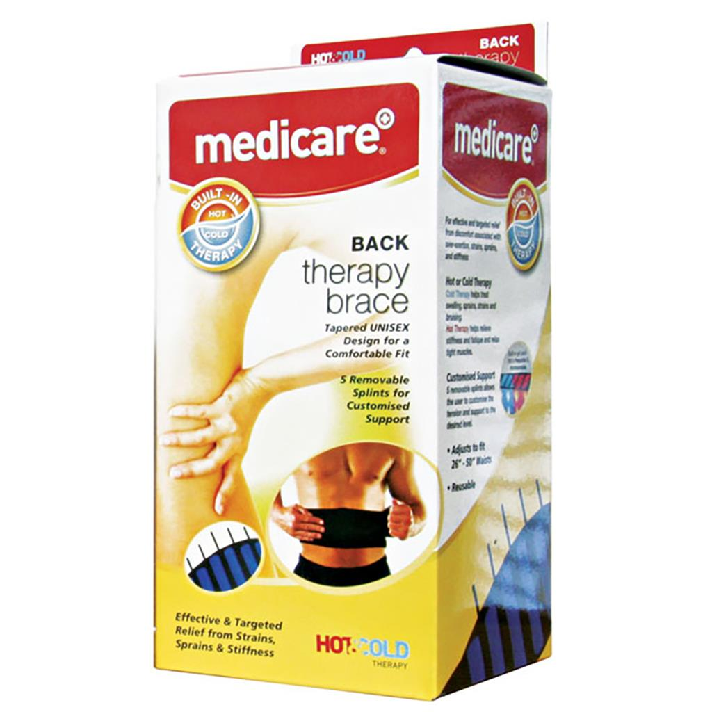 MEDICARE HOT/COLD BACK THERAPY BRACE