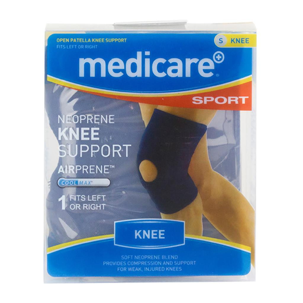 MEDICARE SPORT NEOPRENE OPEN KNEE SLEEVE SMALL