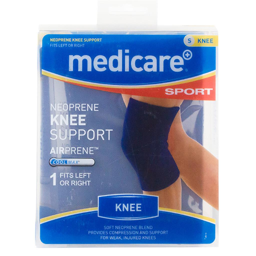 MEDICARE SPORT/PHX NEOPRENE CLOSED KNEE SLEEVE SMALL