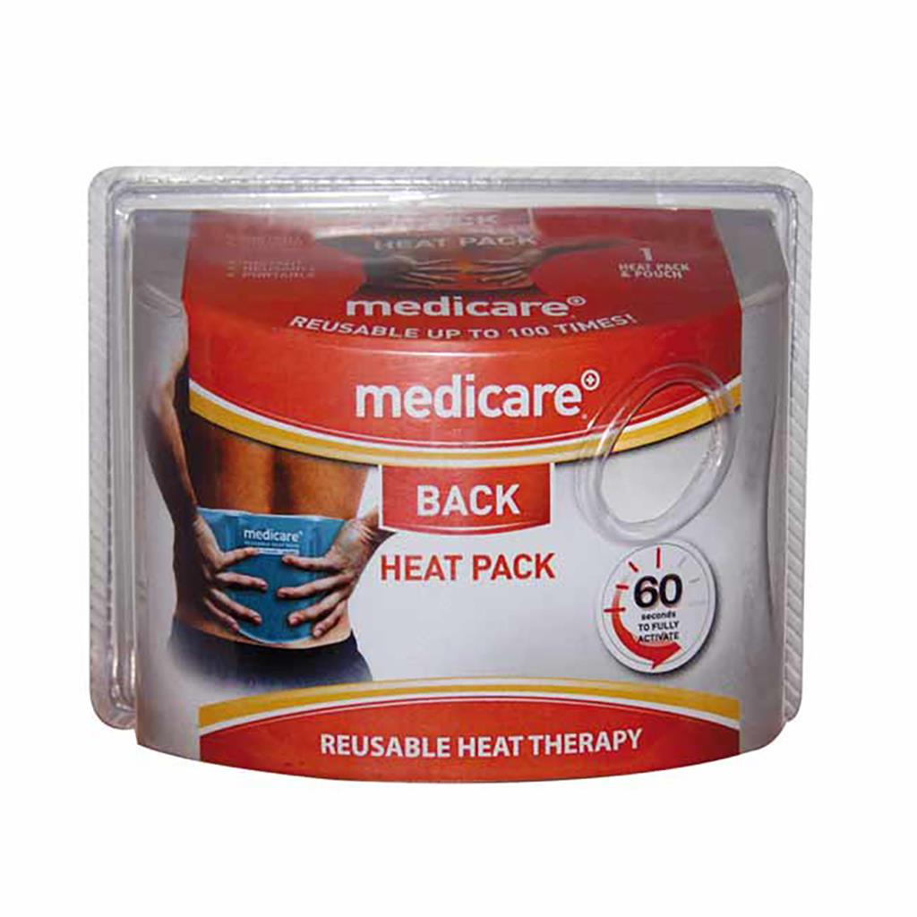 MEDICARE REUSABLE HEAT THERAPY PACK (BACK)