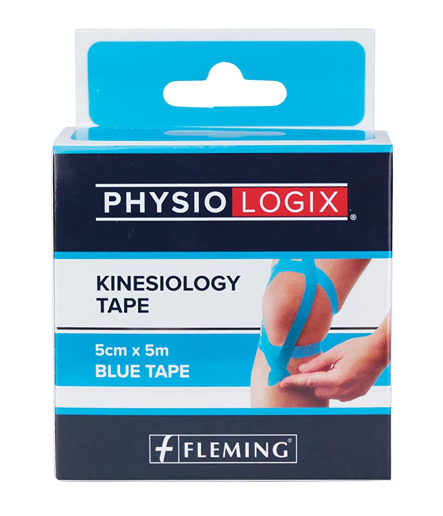 MEDICARE SPORT BLUE KINESIOLOGY TAPE 5CM X 5M
