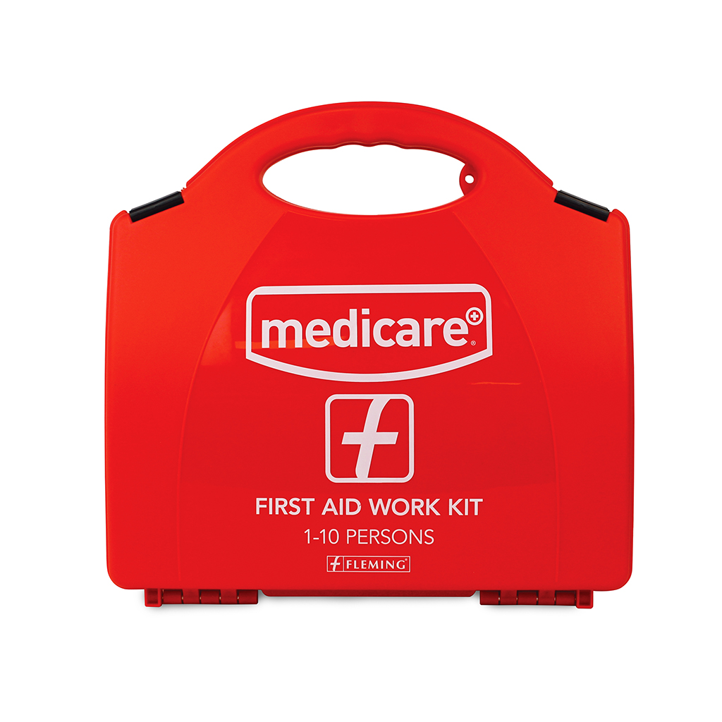 MEDICARE FIRST AID WORK KIT 1-10 PERSONS