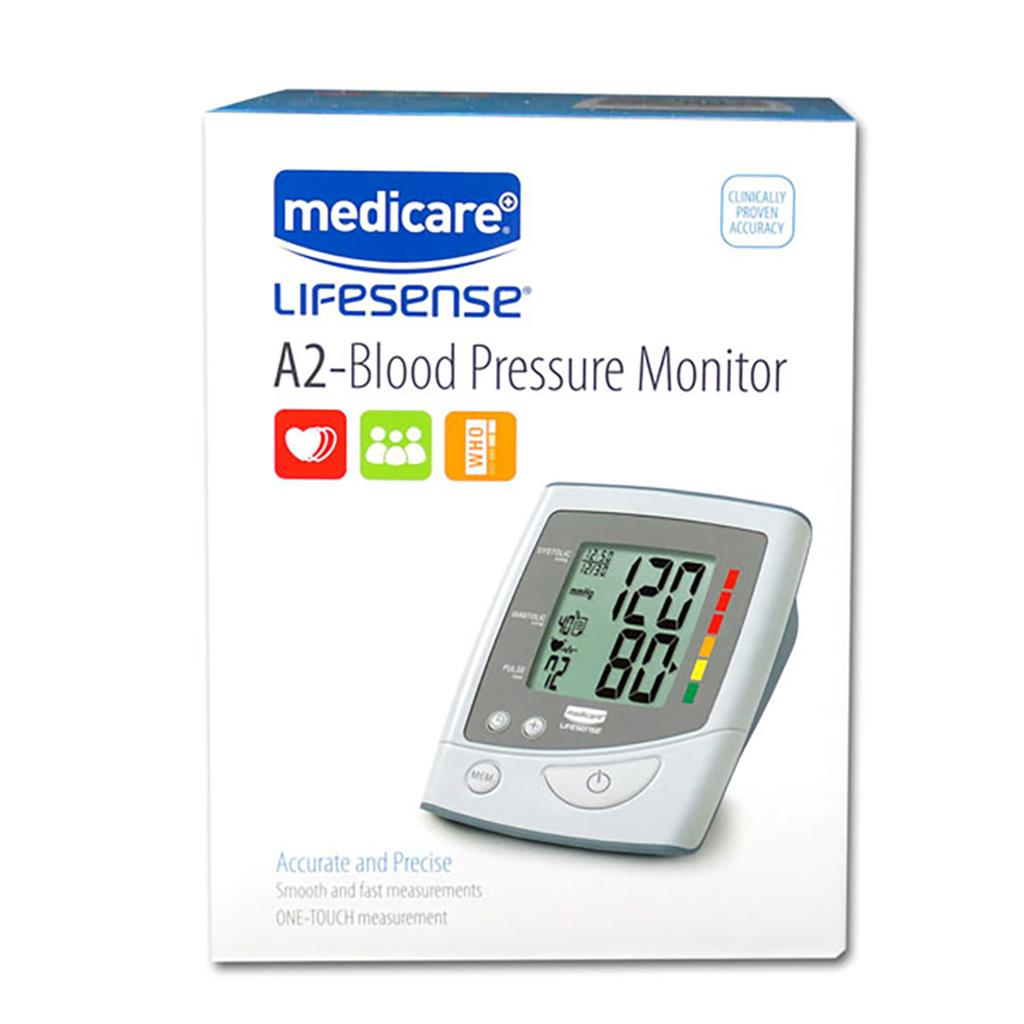 MEDICARE LIFESENSE A2 BLOOD PRESSURE MONITOR