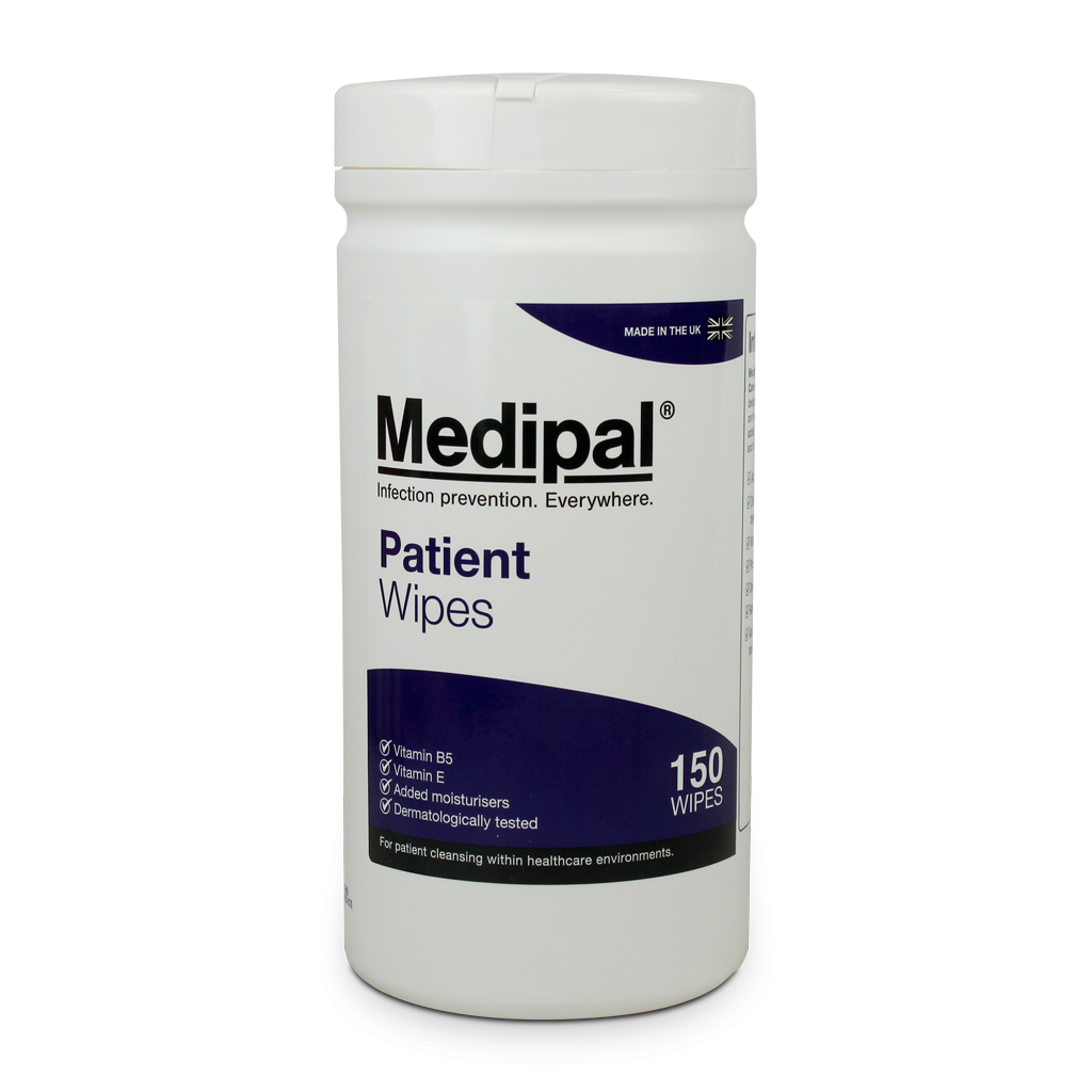MEDIPAL PATIENT WIPES 150'S
