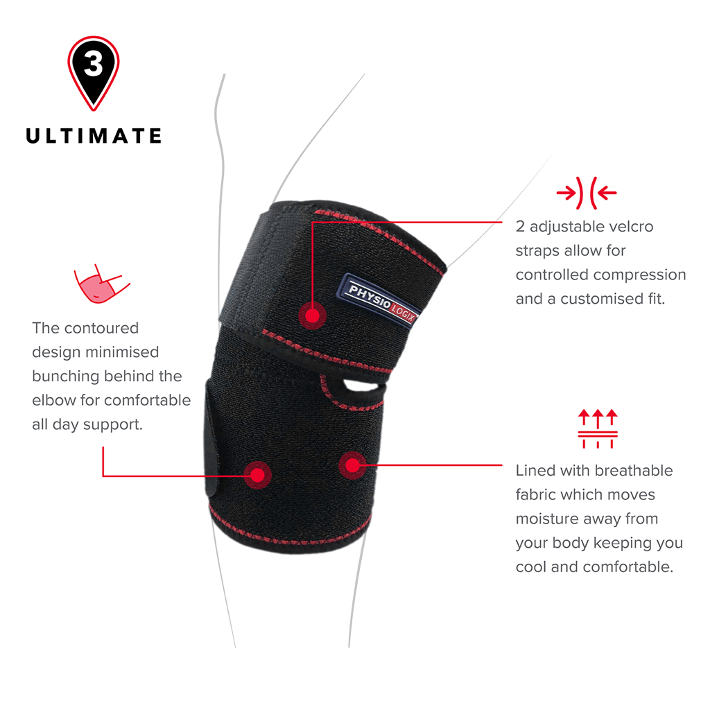 PHYSIOLOGIX ULTIMATE ELBOW SUPPORT - ONE SIZE