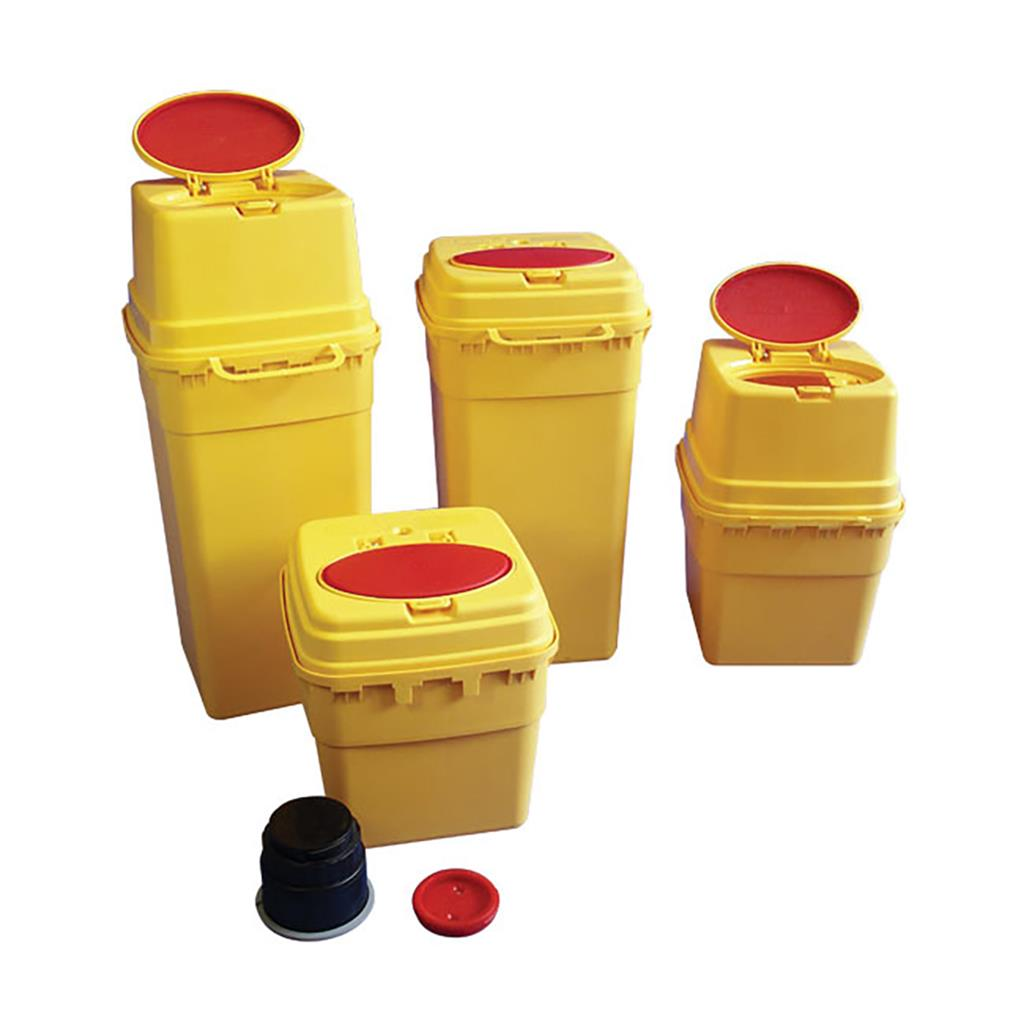 SHARPS EURO-MATIC SECURE SHARPS CONTAINER 3L