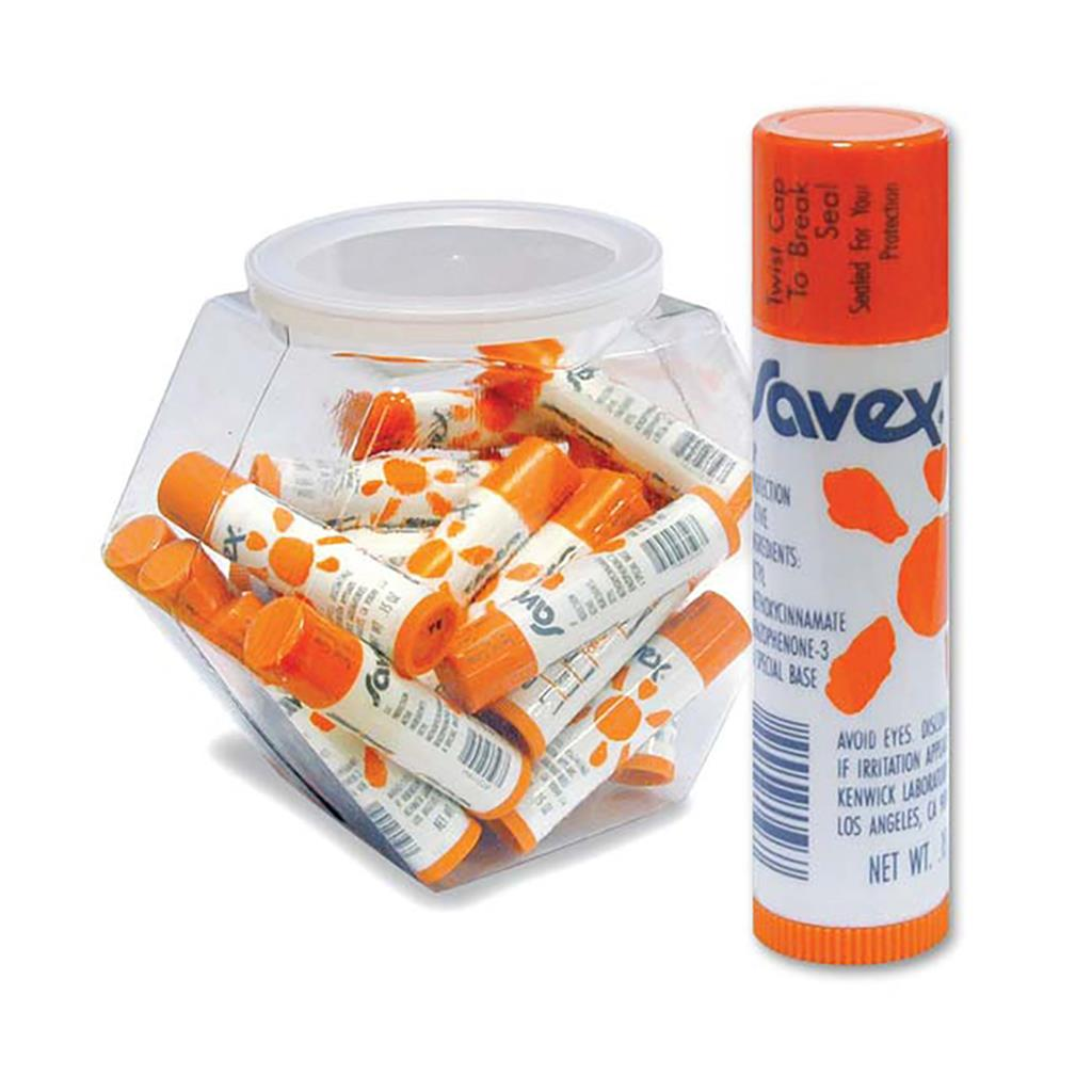 SAVEX SPF15 LIP BALM STICK .15OZ