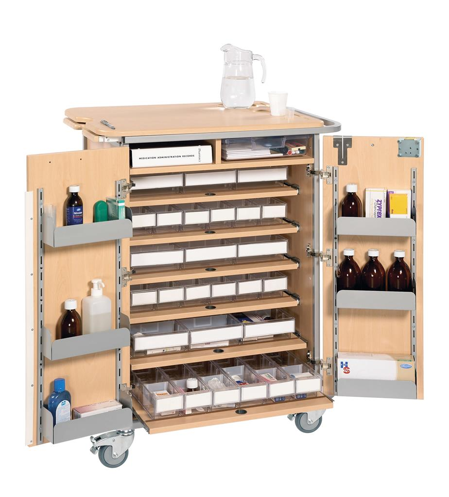 SUNFLOWER UNIT DOSAGE SYSTEM TROLLEY LARGE