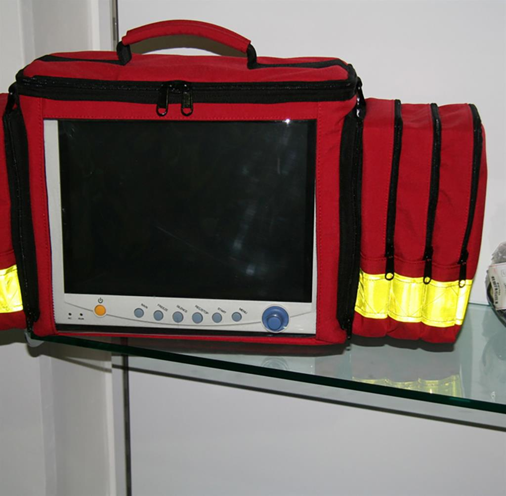CARRY BAG FOR CONTEC MONITOR - RED