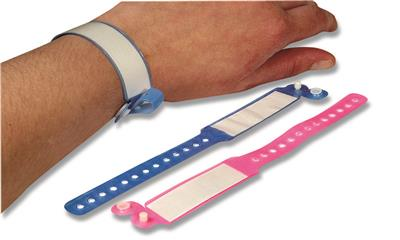 BV ID PATIENT BANDS CHILD (PINK) PK 50