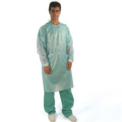 BV VISITOR GOWNS NON STERILE Impervious - Blue (10's)