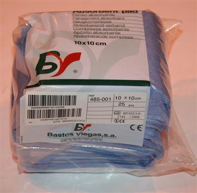 BV NON-STERILE ABSORBENT PAD 10 X 10