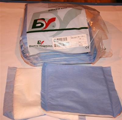 BV NON-STERILE ABSORBENT PAD 20 X 20CM