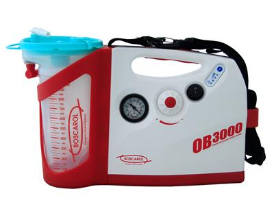 BOSCAROL OB 3000 SUCTION UNIT WITH POWER SUPPLY AND WALL BRACKET