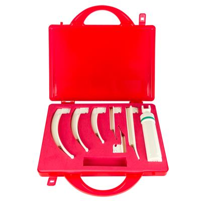 BOSCAROL FIBRE OPTIC DISPOSABLE LARYNGOSCOPE - 6 BLADES