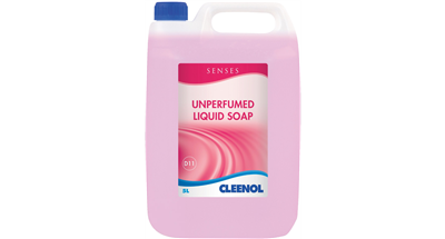 CLEENOL UNPERFUMED LIQUID SOAP 5L REFILL