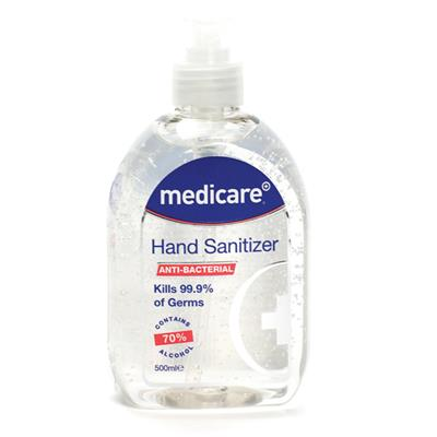 MEDICARE HAND SANITISING GEL 500ML