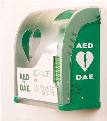 AIVIA AED EXTERNAL WALL CABINET  WITH HEATING & KEYPAD