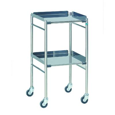 TROLLEY STAINLESS STEEL (460 X 460MM)