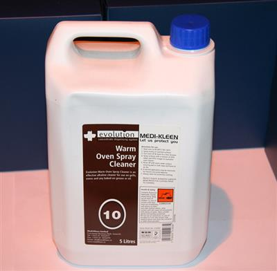 EVOLUTION 10 - OVEN CLEANER 2 X 5L (INCL LANCE)
