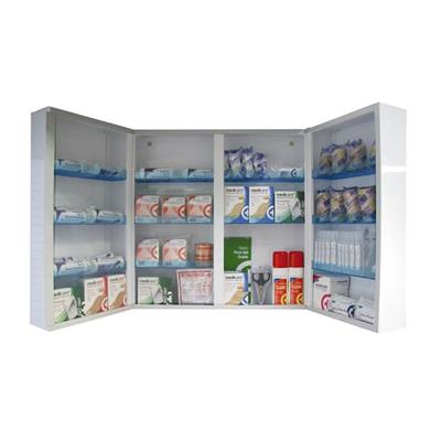 SAFE & SECURE MAJOR FIRST AID CABINET - EMPTY**