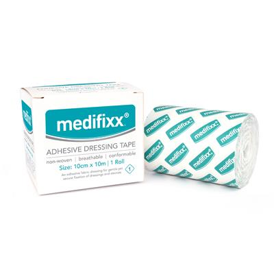 MEDIFIXX ADHESIVE DRESSING TAPE 10CM X 10M