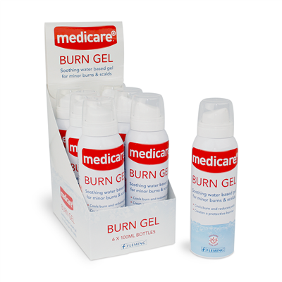 MEDICARE BURN GEL WITH ALOE VERA 100ML