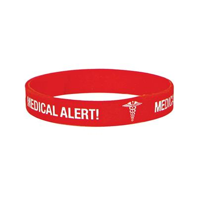 MEDICARE MEDICAL ID BAND BLANK (WRITE ON) EX-LARGE