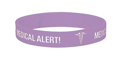 MEDICARE MEDICAL ID BAND PENICILLIN ALLERGY MEDIUM