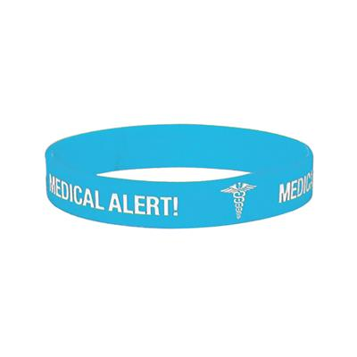 MEDICARE MEDICAL ID BAND ASTHMA EX-LARGE