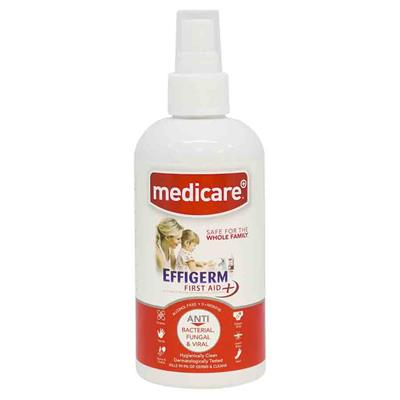 MEDICARE EFFIGERM FIRST AID LIQUID SPRAY - 250ML