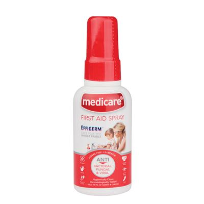 MEDICARE EFFIGERM FIRST AID LIQUID SPRAY - 60ML