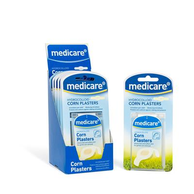 MEDICARE HYDROCOLLOID CORN PLASTERS 6's (DISPLAY OF 6)