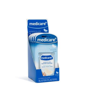 MEDICARE BLISTER PLASTERS 6's (DISPLAY OF 6)