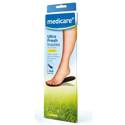 MEDICARE ULTRA FRESH INSOLES (DISPLAY OF 12)