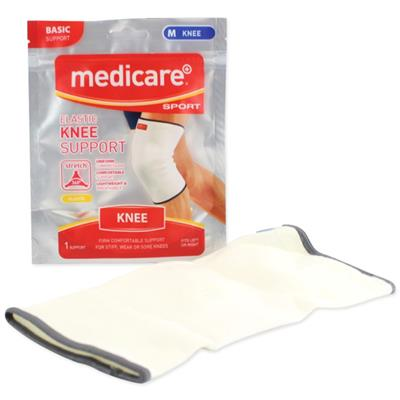 MEDICARE SPORT ELASTICATED KNEE SUPPORT LARGE 41CM-46CM